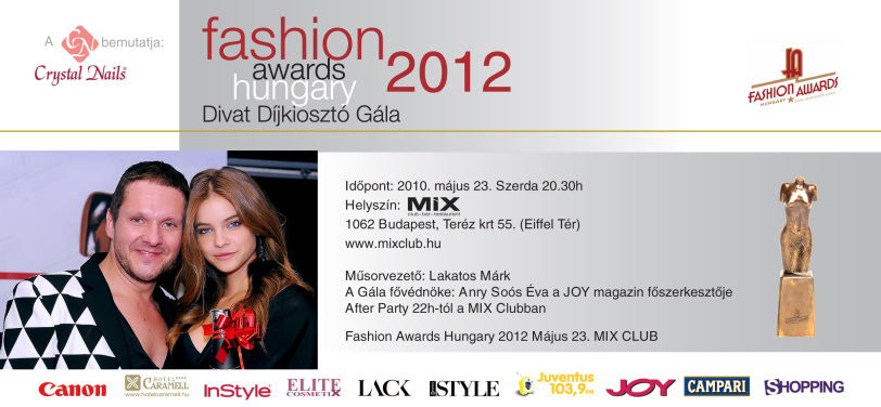 fashion awards 2012